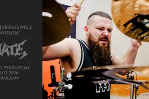 Pawel Jaroszewicz pociag perkusyjny wroclaw 2016 czarcie kopyto front